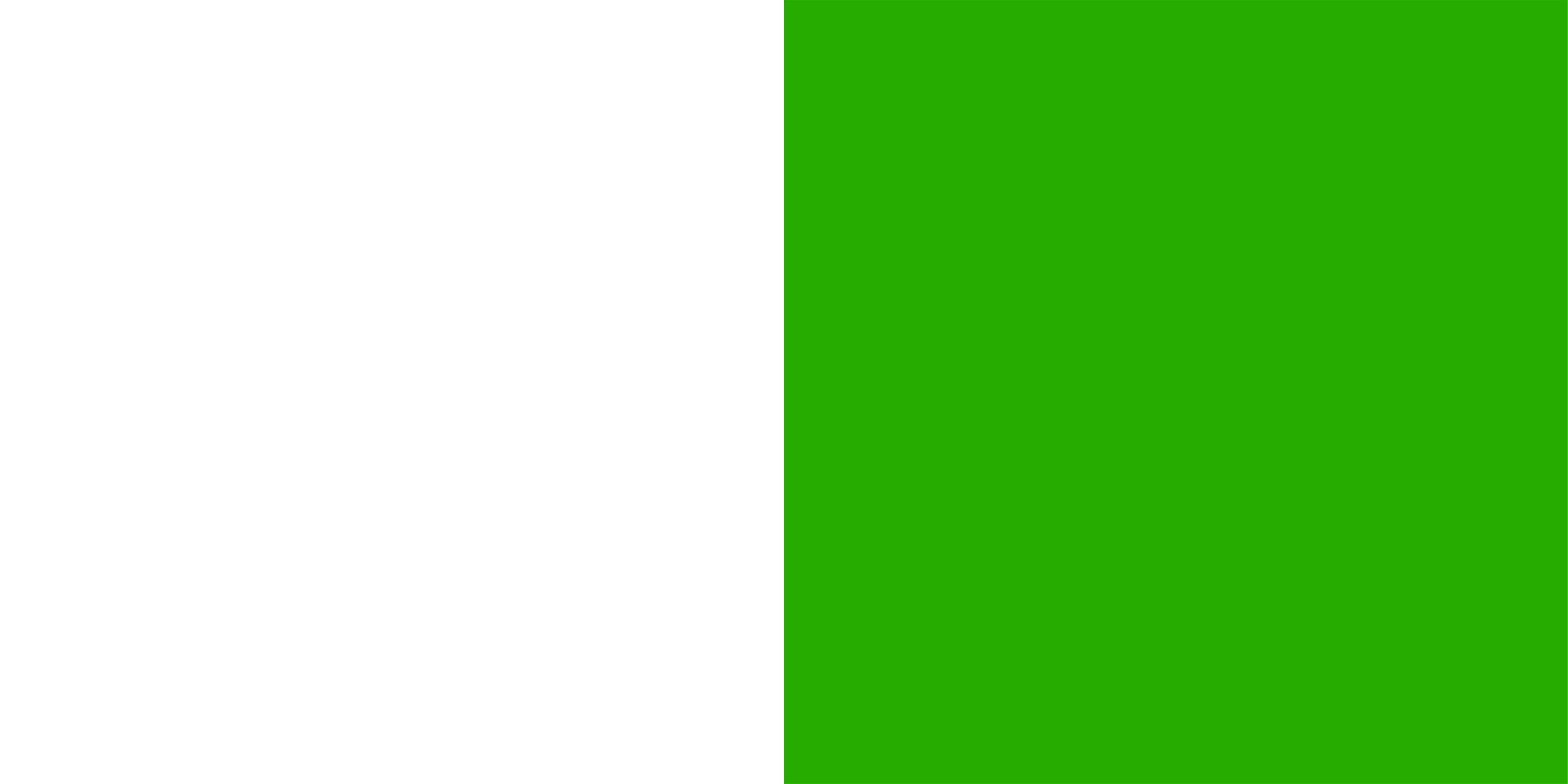 biało-zielony