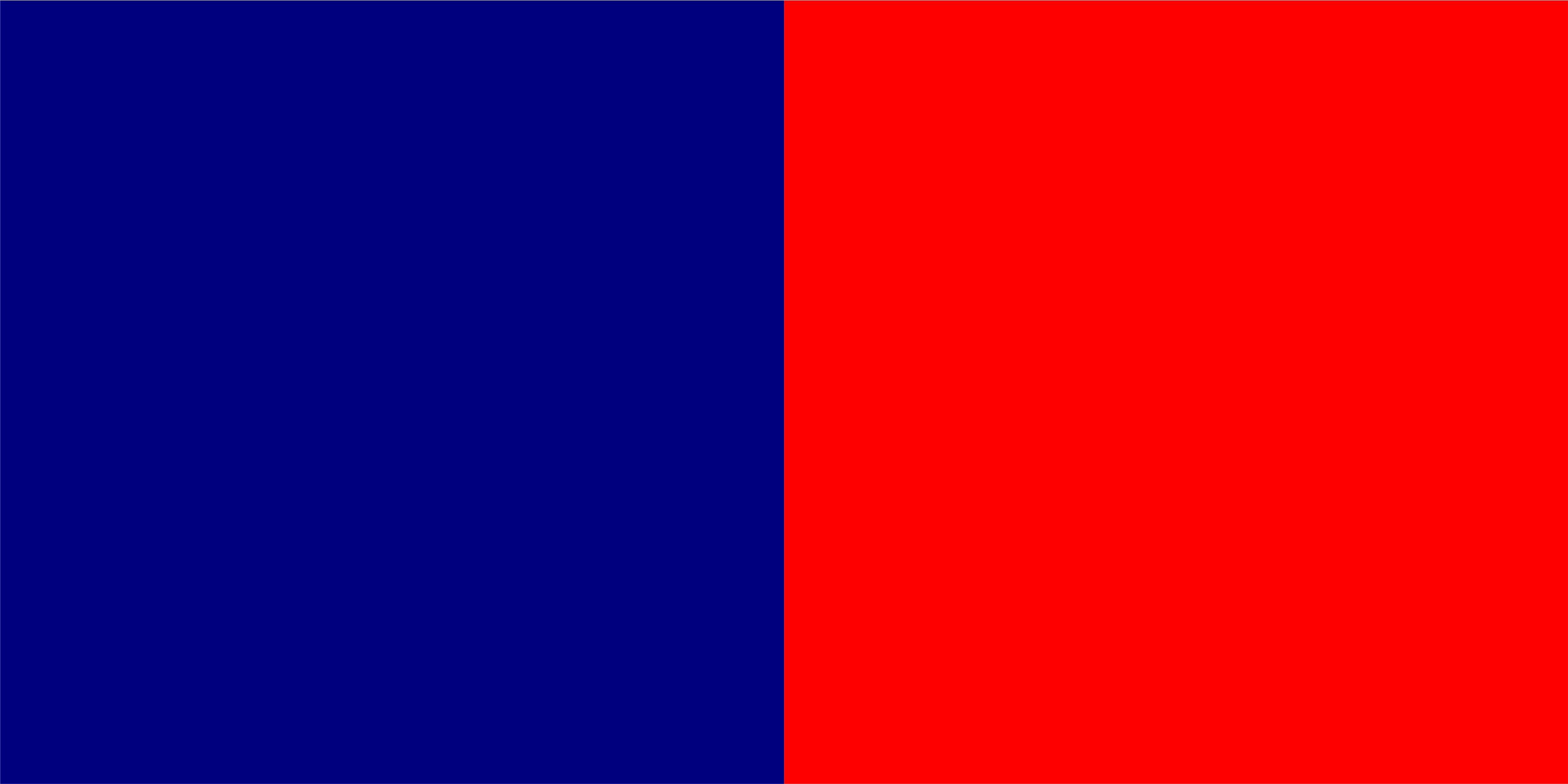 granatowo-czerwony